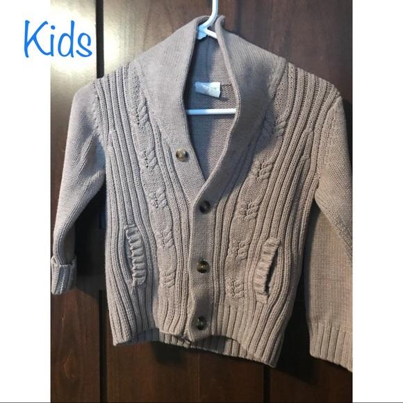 Crazy 8 Boys Shawl Collar Sweater